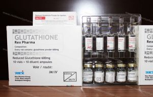 Glutathione 300mg/600mg/900mg/1200mg/1500mg/2400mg/3G for Skin Whitening and Lighting Use pictures & photos