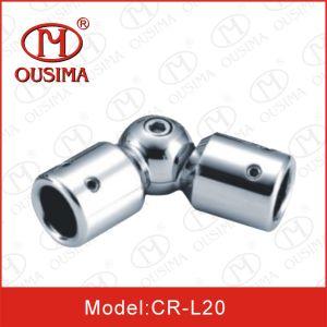 Adjustabel Stainless Steel Shower Glass Door Pipe Connector pictures & photos