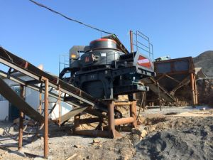Rock Crushing Plant Vertical Shaft Impact Crusher Concrete Crushing Equipment pictures & photos