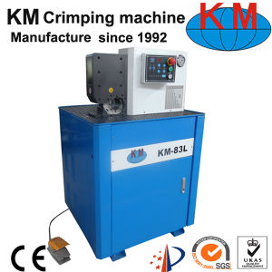 New Side Feeding Hydraulic Hose Crimping Machine for Car Aircondition Hose pictures & photos