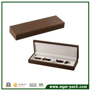 Simple Design Rectangle Wooden Watch Box pictures & photos