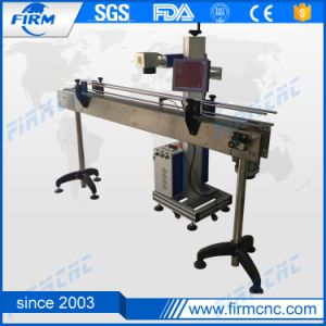 New Arrival 30W Flying Fiber Laser Marking Machine pictures & photos