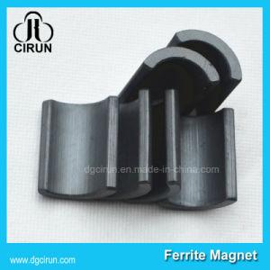 Custom Size Permanent Arc Ceramic Motor Magnet pictures & photos