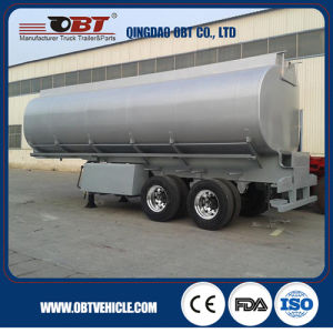New Diesel Fuel Tank Trailer Export to Zambia pictures & photos