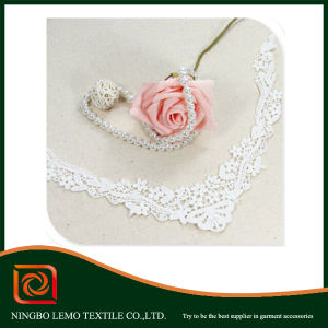 Fashion Collar Lace Fabric for Garment Accessory pictures & photos