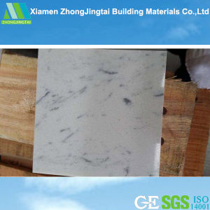 Wholesale Bianco Carrara Engineered Artificial Marble for Tile Slab pictures & photos