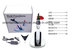 Dual Functions Dental LED Curing Light with Whitening Accelerator pictures & photos