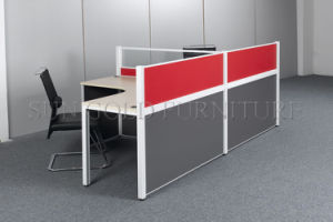 Cheap Partition 2 Seater Workstation Wholesale Cubicle Office Furniture pictures & photos