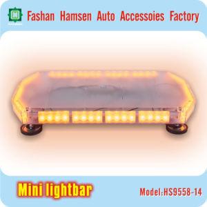 High-Intensity Car Emergency Amber Police Traffice LED Warning Mini Lightbar