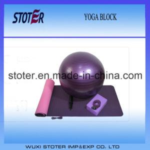 Hot Popular Yoga Mat Block Ball Strap Yoga Set pictures & photos