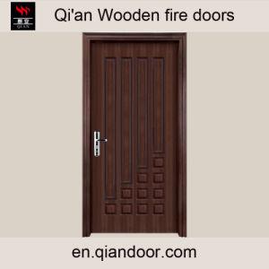 Teak Veneer Wooden Composite Door pictures & photos