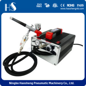 HS-216K Professional Airbrush Mini Airbrush Compressor Set pictures & photos