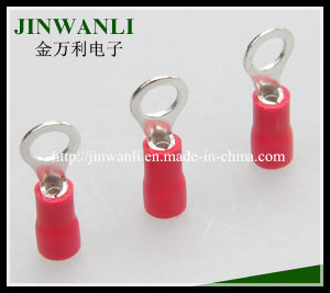 Copper Electrical Connector Terminal, Insulated Ring Terminals RV3.5-5 pictures & photos