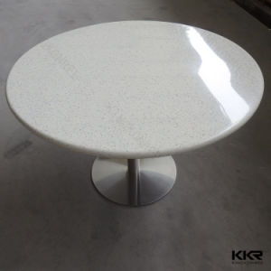 Modern Furniture Artificial Stone Restaurant Food Court Table pictures & photos