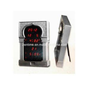 LED Digital Muslim Prayer Azan Desk Clock pictures & photos