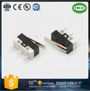 Small 5A 250V Normally Close Micro Switch 3 Pins pictures & photos