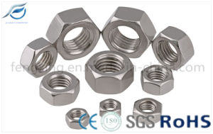 DIN934 High Quality Carbon Steel Hex Nut pictures & photos