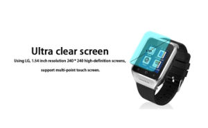 Alloy 3G Android 4.4 Smart Watch Phone pictures & photos