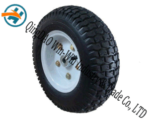 "Wear-Resistant Rubber Wheel for Hand Trucks (13""X5.00-6) pictures & photos"