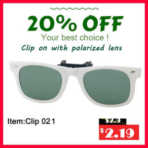 2016 New Fashion Clip-on Sunglasses pictures & photos
