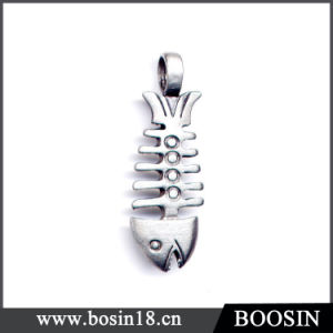 Funny Gift Metal Fishbone Pendant #1573 pictures & photos