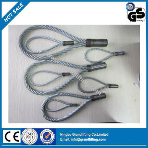 Wire Rope Loop Lifting Loop Lifting Threaded pictures & photos
