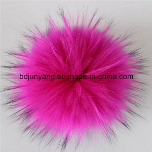 Raccoon Fur Ball for Woman Accessory pictures & photos