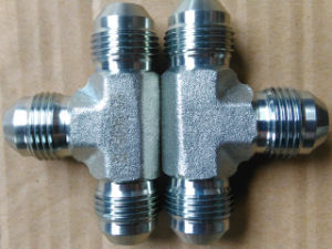 Stainless Steel Jic Male Tee Hydraulic Fitting/Adapter/Tube Fitting pictures & photos