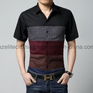 OEM Service Cheap Men Dri Fit Dress Shirts (ELTDSJ-94) pictures & photos
