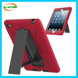 Colorful Silicone Tablet PC Case for iPad Mini with Holder pictures & photos