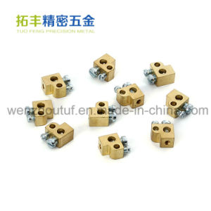 Electrical Crimp Wire Connector Terminal Lathe Machining Milling Brass Terminal pictures & photos