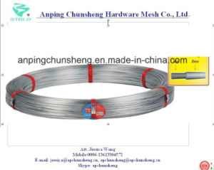 Galvanized Steel Wire for Brazil Market Using pictures & photos