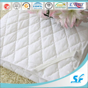 Microfiber Polyester Mattress Pad Hotel Thin Mattress Topper pictures & photos