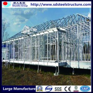 Light Steel Stucture Three Storeys Stylish Prefabricated House pictures & photos