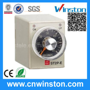 Mechanical Electronic Programmable Multi Range Time Delay Relay with CE pictures & photos