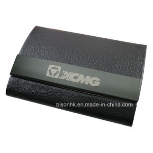 Double-Faced Open Business Card Holder, Creative Business Card Holder pictures & photos