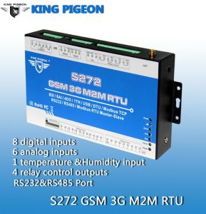GSM SMS Automation Control Systems (8DIN 8DOUT 4AIN)