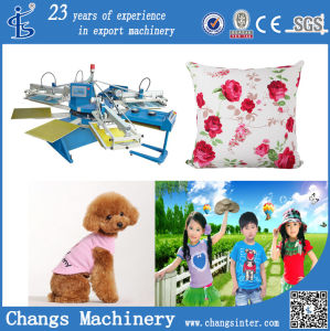 Custom Home Silk Screen Printing Tee Shirts Machine for Sale (SPE Series) pictures & photos