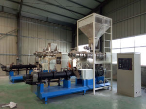 Twin Screw Extruder Pet Food Machine pictures & photos