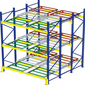 Push Back Racking for Warehouse Storage pictures & photos