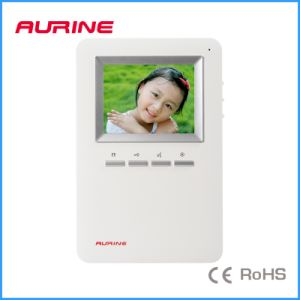 2 Wire 4 Inch White Handfree Video Indoor Phone (A2-F71 Series)