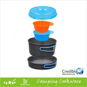 Camping Cookware Set for 2 Persons pictures & photos