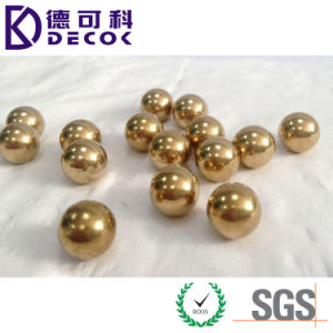 C28000 Small 1mm Brass Ball H62 Round Solid Brass Ball pictures & photos