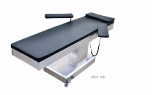 Electric Operating Table for Clinical Examination and Normal Operations, Side-Placed Pillar pictures & photos