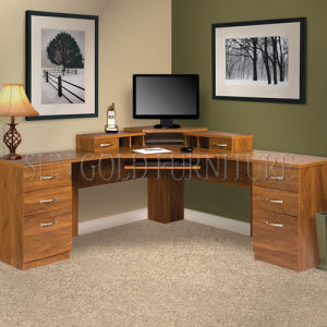 Modern Home Office L Shape Corner Computer Desk (SZ-OD553) pictures & photos