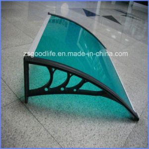 Never Yellowing UV Blocking Sunshield Polycarbonate Roofing Sheet pictures & photos