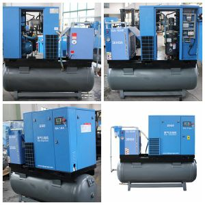 7.5kw All in One Screw Air Compressor with Dryer pictures & photos