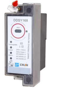 DIN Rail Mounting Kwh Keypad Split Prepaid/Prepayment Electrical Energy Meter pictures & photos
