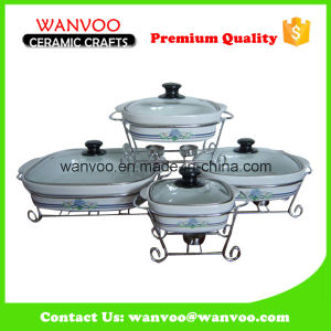 Factory Wholesale Non Stick Ceramic Grill Pan for Cooking Cake pictures & photos