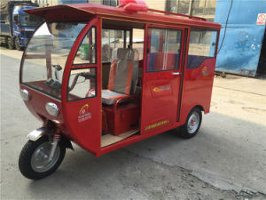 Three Wheel Motorcycle Rickshaw Bajaj Car Hot Sale Adult Passenger Tricycle pictures & photos